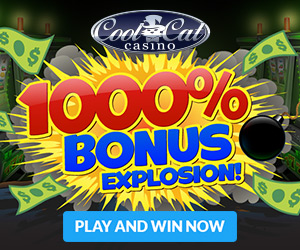 Cool Cat Casino - 1000% Bonus Explosion